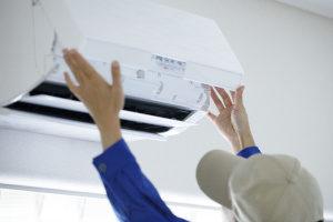 Wartung einer Split Klimaanlage