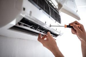 Einbau einer Split Klimaanlage